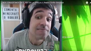 ROVI23   MOMENTOS GORILLA | Roblox ⭐Gorilla Simulator | GamePlaysMix