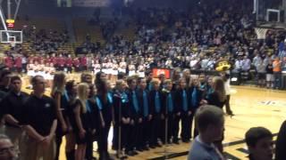 Platt - National Anthem:  CU v Harvard (11/24/13)