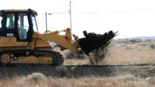 Railroad Track Removal at Hanford