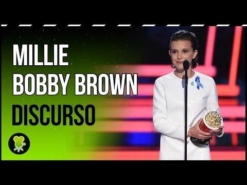 El discurso de Millie Bobby Brown en los MTV Awards subtitulado en español