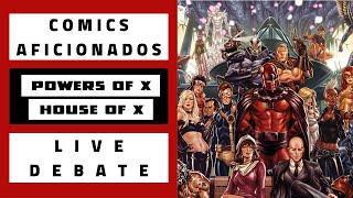Comics Aficionados: Marvel Comics X-Men Universe Reboot