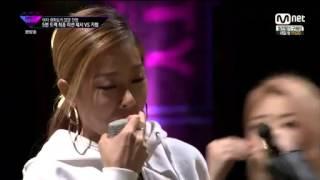 Unpretty Rapstar Jessi vs Kisum (Eng Sub)