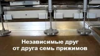 видео Конструкция и принцип действия форматно-раскроечных станков