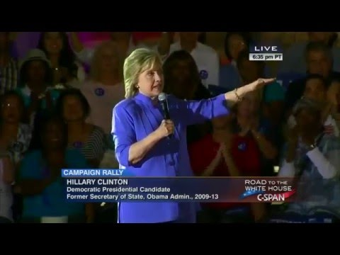 Presidential Candidate Hillary Clinton Campaign Rally in Las Vegas