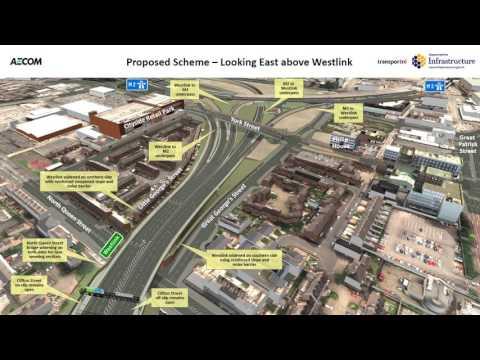 York Street Interchange : Proposed Scheme Flythrough Animation