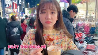 (한) Cùng Hari và Trấn Thành ăn sạch món ăn đường phố Hàn Quốc 하리와 쩐탄과 함께 먹는 한국 길거리 음식