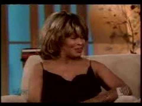 Tina Turner - Interview - Ellen Part 2