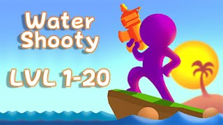 Water Shooty - Can you pass them all? iOS/Android Game Review