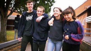 Mellerup Efterskole - efterårsbilleder 2016