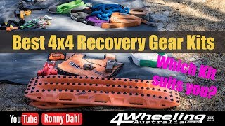 Best 4x4 Recovery kits, which do you need?