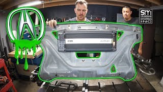 Acura/Audison stereo system build PART 5!