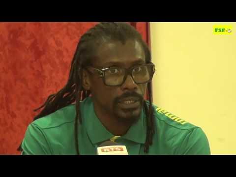 """Aliou CISSE Coach de l'équipe du Sénégal """"mettre toute notre énergie sur ce match important"""""""