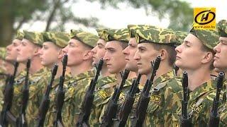 Более 1200 новобранцев внутренних войск МВД Беларуси приняли присягу