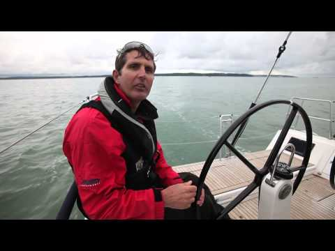 How to helm and trim for reaching. Tips from round the world sailor Brian Thompson