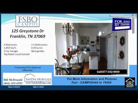 4 bedroom House for Sale near  Hunters Bend Elementary School in Franklin TN