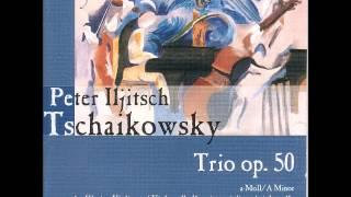 P.I. Tchajkovsky, Trio Op. 50. II. Tema con variazioni - Andante con moto