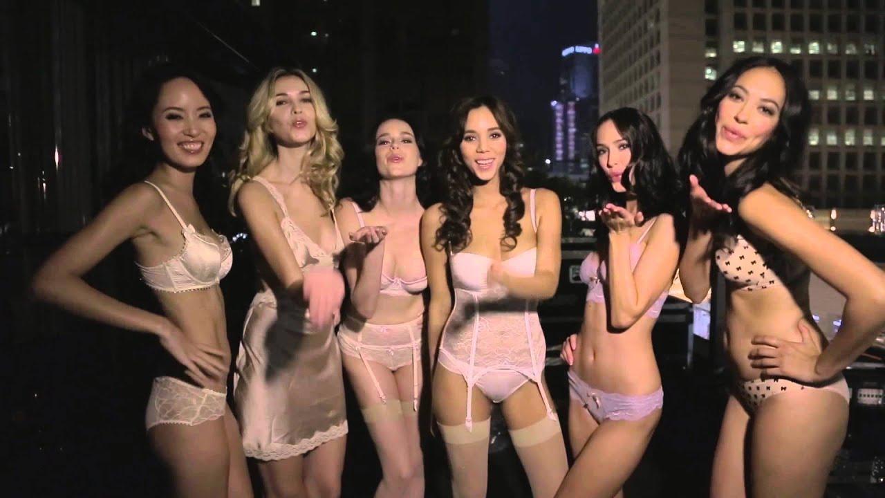 Sheer Lingerie Fashion Show