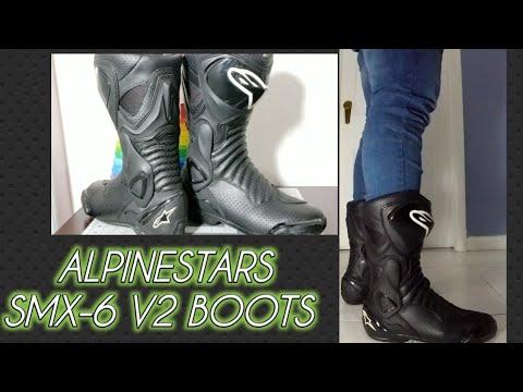 Alpinestars Botas SMX de 6/V2