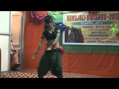Dance by Proneeta Swargiary at Rongjali Bwisagu
