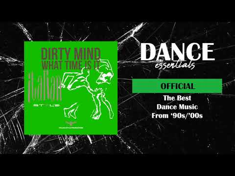 Dirty Mind - What Time Is It (Silver Mix) - Cover Art - Dance Essentials