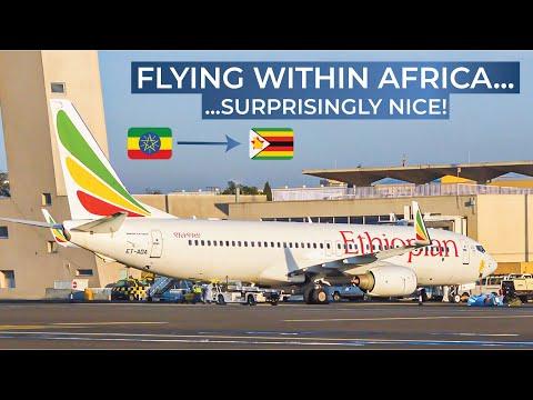 TRIPREPORT | Ethiopian Airlines (ECONOMY) | Boeing 737-800 | Addis Ababa - Victoria Falls