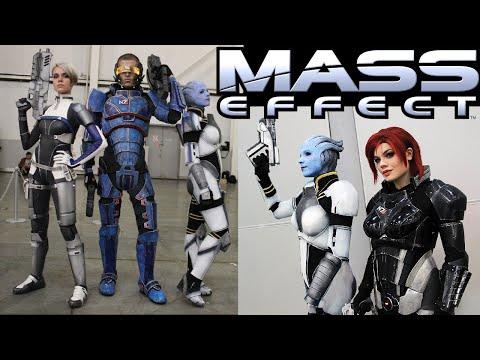 cosplay, n7, armor, costume, liara, andromeda, cora, harper, sara, ryder, t'soni, we'll, bang, okay, gamer