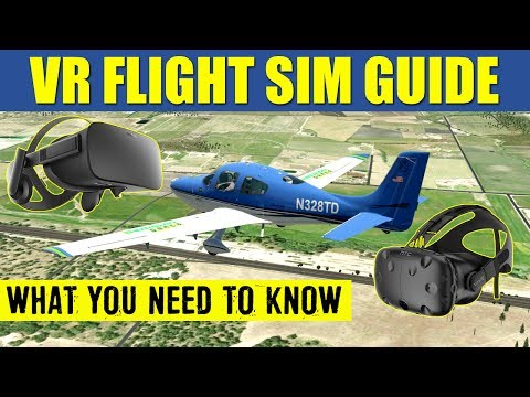 Virtual Reality Flight Simulation Guide ✈️ What You Need To Know