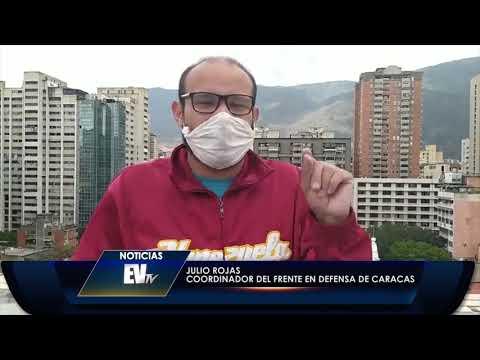 Colectivos Intentan Invadir Apartamentos En Caracas - Noticias EVTV - 03/31/2020