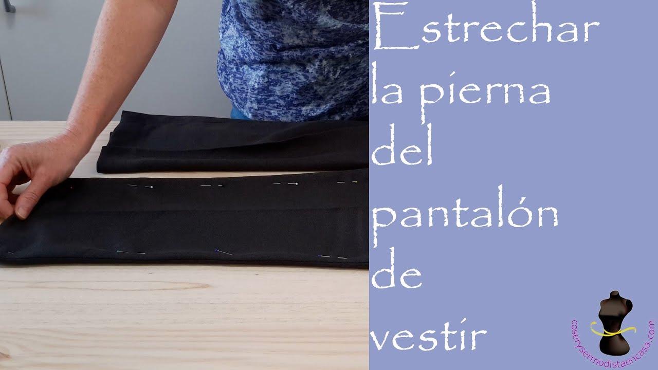 7d006ac301 Estrechar la pierna del pantalón de vestir - YouTube