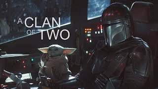 The Mandalorian and 'Baby Yoda' || A clan of two