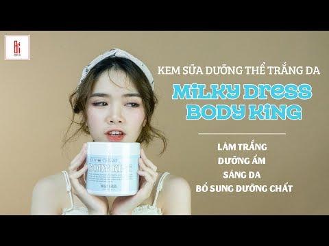 [REVIEW] Kem Dưỡng Trắng Milky Dress Body King
