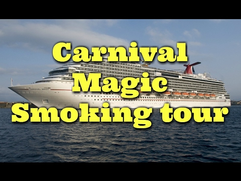 Carnival Magic Tour St Time Cruisers The SMOKERS Tour YouTube - Is there smoking on cruise ships