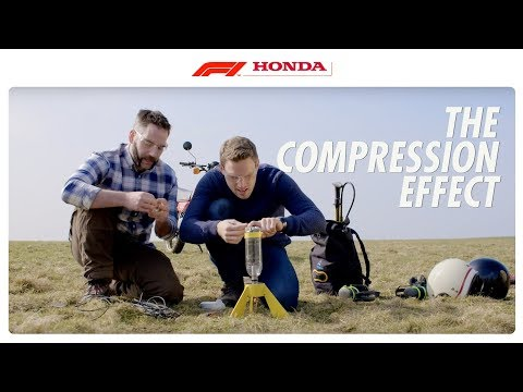 The Compression Effect I The F1 Power Unit Explained I Honda Racing F1