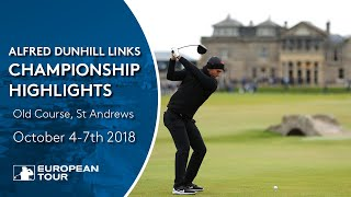 Extended Tournament Highlights   2018 Alfred Dunhill Links Championship
