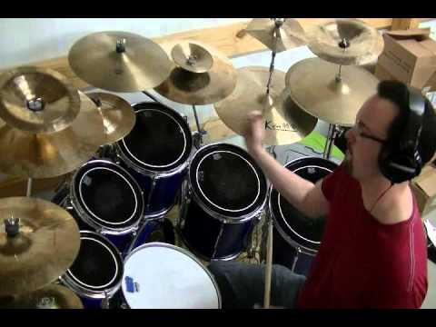 Reaching - Leeland drum cover by Adam Rhodes - Wuhan - Cymbal Stack