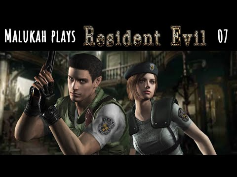 Malukah Plays Resident Evil 1 - Ep. 07