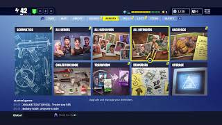 fortnite save the world - ultimate founders pack how to upgrade founder's weapons