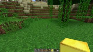 Minecraft: 1.8 How to eat, run, fly & more - Creative and Survival basics tutorial - w/Chad