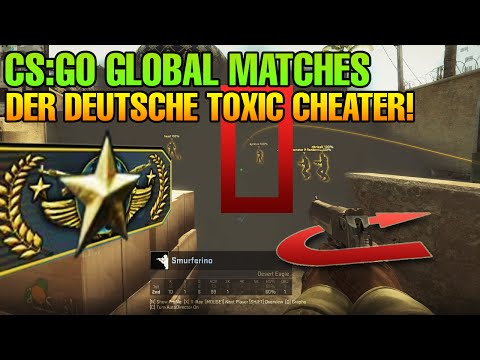 CS:GO Typisches Global Elite Match #3 - Der deutsche toxic cheater 16-14!