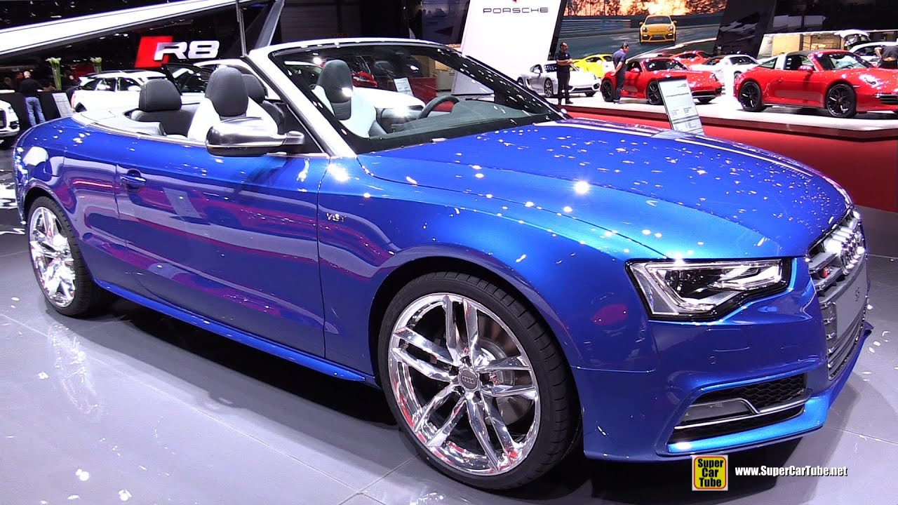 2015 Audi S5 Cabriolet 3 0 Tfsi S Tronic Exterior And