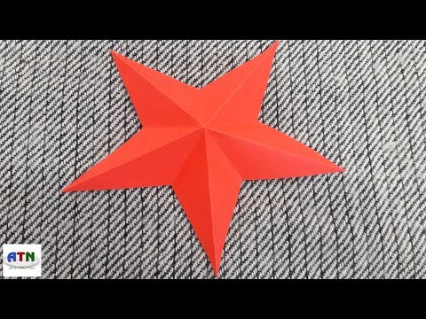 How To Bend Simple & Easy Lucky Paper Star   DIY Paper Craft Ideas Tutorials