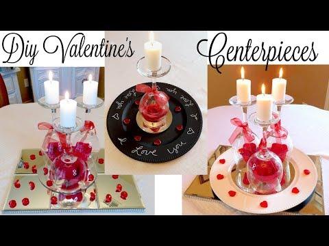 3 DIY Dollar Tree Valentine's Day Centerpieces | Simple Wedding Centerpiece Ideas
