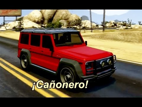 Grand Thef Auto V Canyonero - GTA 5 Cañonero | Simpsons