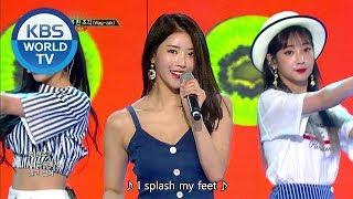 Lovelyz- Wag-zak   러블리즈 - 여름 한 조각 [Music Bank COMEBACK / 2018.06.29]