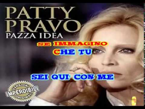 PAZZA IDEA _PATTY PRAVO - KARAOKE By Steva 2000 -VIDEOKARAOKEMANIA