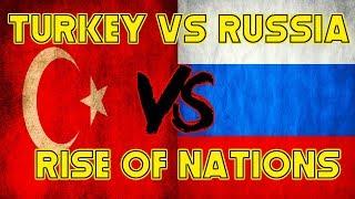 TURKEY vs RUSSIA - Rise of Nations (Roblox)