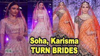 BRIDAL LOOKS 2018: Soha, Karisma TURNS BRIDES