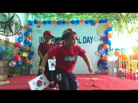 International Flag Parade-Global Kids Kindergarten