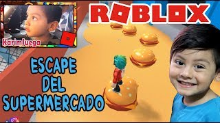 The Supermarket in Roblox ESCAPE THE STORE ? Roblox Obby Game for Kids
