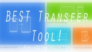 Wondershare MobileTrans - 1-Click Phone to Phone Transfer!